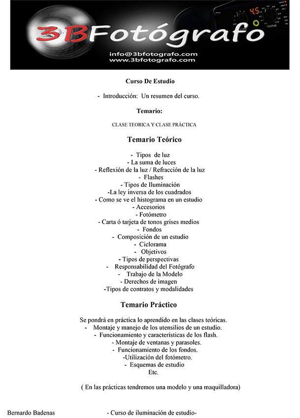 TEMARIO DEL CURSO