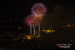 Fuegos artificiales La Mercè 2018